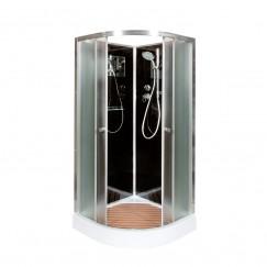 Душевая кабина Deto B 01 Black (100x100)