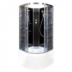 Душевая кабина Deto BM 4510 N Black (100x100)