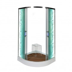 Душевая уголок Deto С 09 LED (90x90)