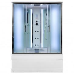 Душевой бокс Deto EM 4515 LED с гидромассажем (150x85)